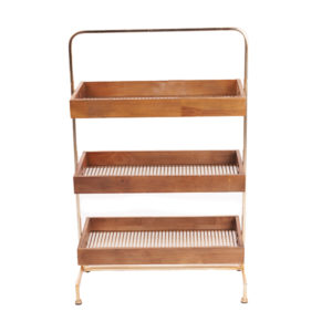 Tiered stands for your merchandise