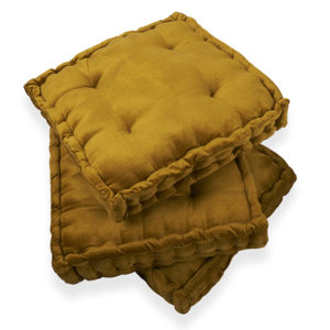 Floor cushion rentals for casual lounge seating