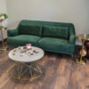 Evergreen Velvet Sofa Lounge Furniture Event Rentals Madison Wisconsin Southern Central Wisconsin