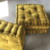 Chartreuse pillows for rental