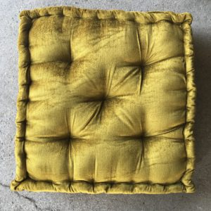 Velvet floor cushion rentals