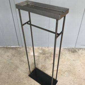 Industrial design plant stand rental