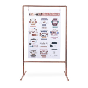 Easel rental, perfect signage for your next Expo