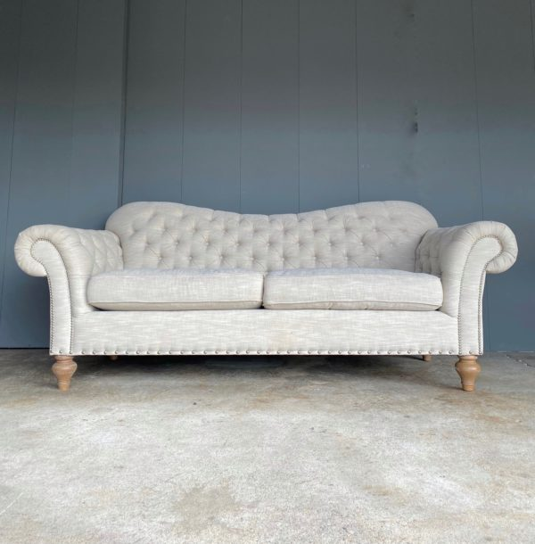 White chesterfield rentals for your event