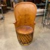 Wood and leather chair rentals for your boho styled event