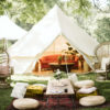 Event Essentials glamping tent + curated collection by ALC