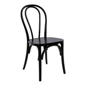 Black bentwood chair rental madison wisconsin wedding corporate event rentals