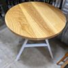 Solid ash top wood table